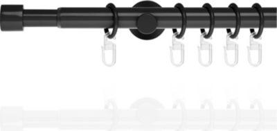Lichtblick Gardinenstange Cap, 20 mm, ausziehbar 130 - 240 cm
