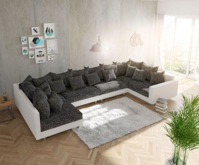 couch-clovis-xl-weiss-schwarz-mit-armlehne-wohnlandschaft-modulsofa