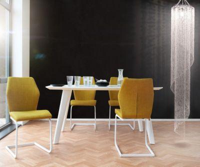 Deckenleuchte Deckenlampe Wohnzimmer Lampe Spot Rund Glas Trio 6800011-01 Deckenleuchten Beleuchtung