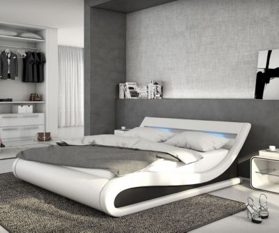 schwarz bett 140x200 preisvergleich die besten angebote. Black Bedroom Furniture Sets. Home Design Ideas
