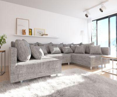 couch-clovis-hellgrau-strukturstoff-wohnlandschaft-modulsofa