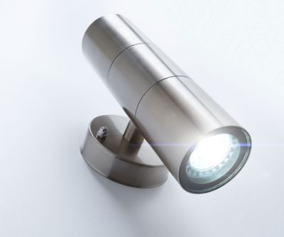 Wandlampe Pared inklusive Leuchtmittel Silberfa...