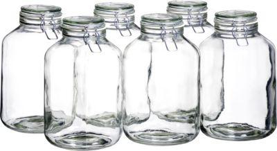 6er Set Einmachglas 4,8 l. GOTHIKA