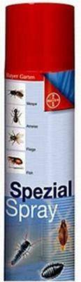 Spezial-Spray 400 ml gegen Ungeziefer Schaben, Silberfischchen, Kellerasseln, Heimchen, Milben, Ohrwürmer, Ameisen, Flöhe, Wanzen, Hühnermilben, Zecken