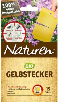 celaflor CELAFLOR® Naturen® Gelbstecker, 10 Stück, teilbar auf 15