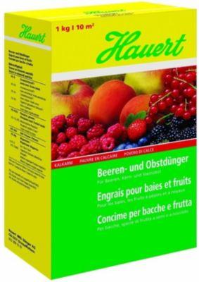 Hauert  Beeren- und Obstdünger, 1 kg Karton