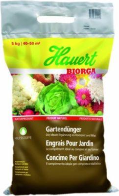 Hauert  Biorga Gartendünger, 5 kg Beutel organischer Dünger