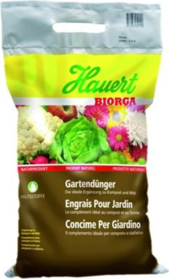 Biorga Gartendünger, organischer Dünger Biodünger Naturdünger 15 kg Sack