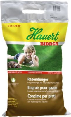 Hauert  Biorga Rasendünger-Sphero-Granulat,5 kg