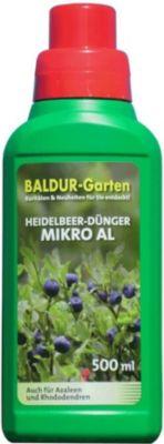 Baldur Garten Heidelbeerdünger für Heidelbeeren Micro AL, 500 ml