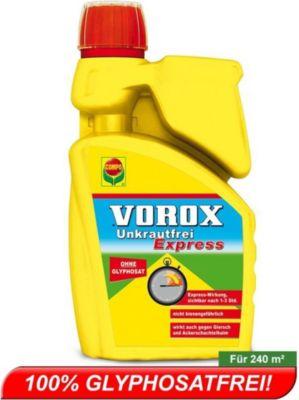 VOROX® Unkrautfrei Express für 240 m² 1000 ml 100% Glyphosatfrei