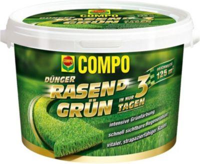 Rasen Grün 3,75 kg Rasendünger Grünfärbung Ihres Rasen innerhalb von nur 3 Tagen