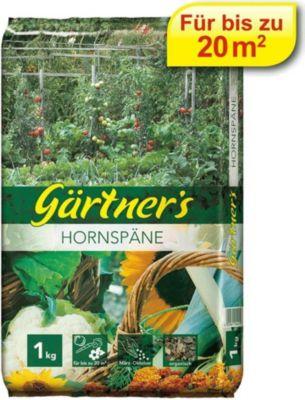 Gärtner´s  Hornspäne, Naturdünger, Gartendünger 1 kg
