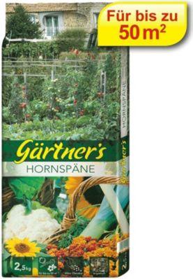 Gärtner´s  Hornspäne, Naturdünger, Gartendünger 2,5 kg
