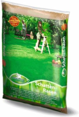 Rasenmischung Pegasus Schattenrasen Rasensamen Rasensaatgut Grassamen 10 kg