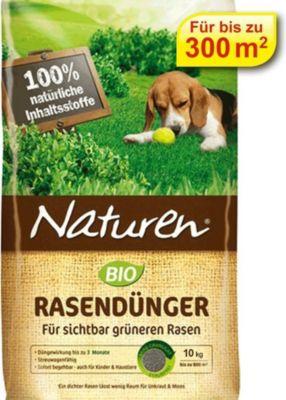 Naturen® BIO Rasendünger, organischer Rasendünger Naturdünger Biodünger 10 kg