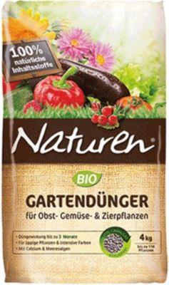 Naturen® BIO Gartendünger für Obst- Gemüse- & Zierpflanzen, 4 kg