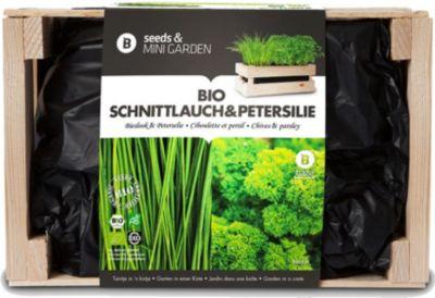 Mini-Garten BIO-Schnittlauch & BIO-Petersilie,1...