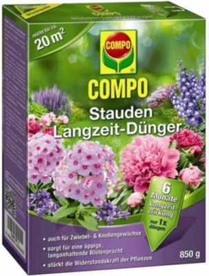 Compo COMPO® Stauden-Langzeit-Düngeperls, Staudendünger, Langzeitdünger 850 g