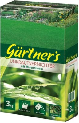 Gärtner´s Rasendünger mit Unkraut-Vernichter, 3 kg