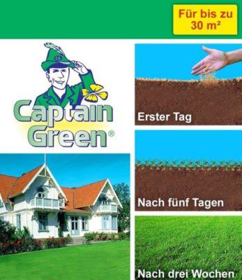 Captain Green ® ´Wunderrasen´ Schnellwuchsrasen, 1 kg