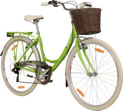 Galano Valencia 28 Zoll 6 Gang Citybike Stadt Fahrrad... 19 Zoll, hellgrün