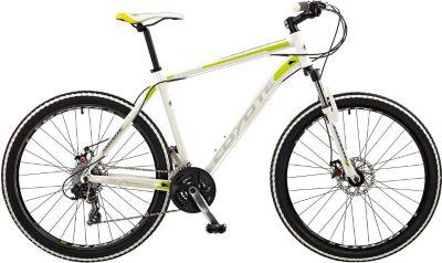 650B 27,5 Zoll Coyote Milwaukee 24 Gang Mountainbike Fahrrad Trekking Cross Weiß Grün