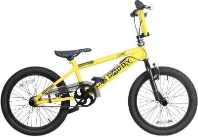 18 Zoll BMX Rooster Big Daddy Rotor Pegs schwarz gelb