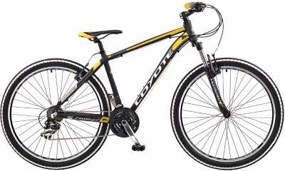650B 27,5 Zoll Coyote WYOMING 21 Gang Mountainbike Fahrrad Trekking Cross schwarz