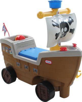 2in1 Piratenschiff Kinderfahrzeug Fahrrad Kinderbike Lauflernrad Lernlaufrad Kinderfahrrad