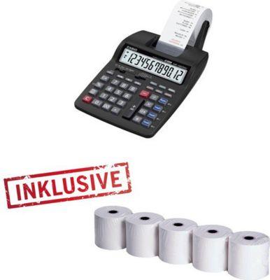 HR 150 TEC druckender Tischrechner + 5 Papierrollen