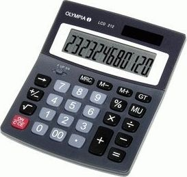 LCD 212 Tischrechner 12 stellig