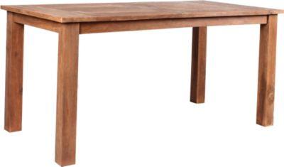 Tisch Chicago Gartentisch Teakholz retro recycelt, Esstisch, ca. 160 x 80 cm