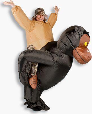 GARDENho.me Aufblasbares Kostüm Gorilla Mokombe...
