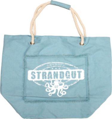 Strandgut07 Strandtasche hellblau