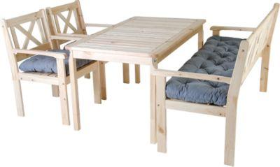 preisvergleich eu sitzgarnitur aus holz. Black Bedroom Furniture Sets. Home Design Ideas