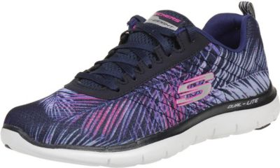 Skechers Flex Appeal 2.0 Tropical Breeze Damen Fitnessschuhe Light weight navy