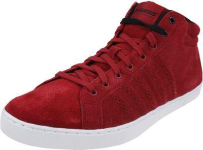 K-Swiss Adcourt 72 Mid Schuhe Leder Herren Sneaker 03019627 rot 1513358011