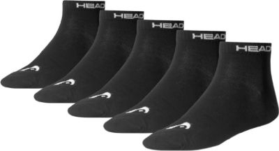 5 Paar Head Quarter Socken Gr. 39 - 46 Unisex für Damen Herren Füßlinge 1623831000