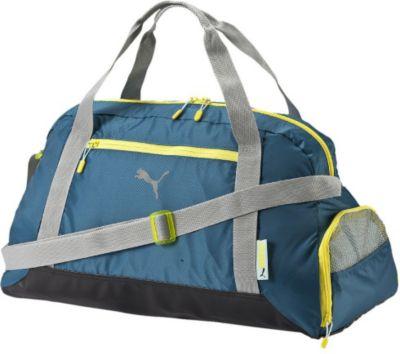 Sporttasche Fit AT Sports Duffle Sports Bag Tasche ca. 32 Liter Blue Coral / Limestone Gray