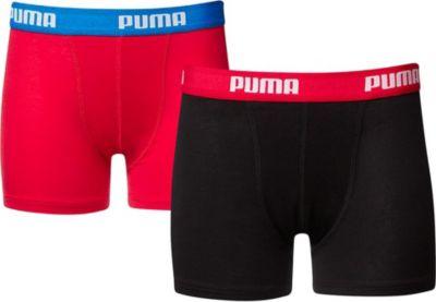 2 er Pack Puma Boxer Boxershorts Jungen Kinder Unterhose Unterwäsche