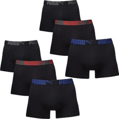 6 er Pack Puma Boxer Boxershorts Men Pant Unterwäsche Catbrand WOW 1654318001