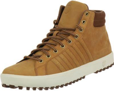 Plus K-Swiss Adcourt 72 Boot Leder Sneaker 03125-221 Winterschuhe braun
