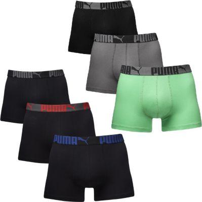 6 er Pack Puma Boxer Boxershorts Men Pant Unterwäsche Catbrand WOW 1654318010
