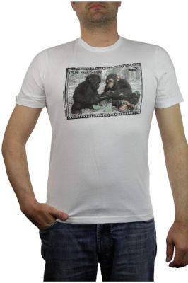 Vintage Friends Affe Tee Men Herren T-Shirt Fairtrade make new friends