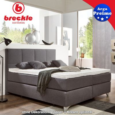 breckle boxspringbett arga preime 140x220 cm inkl topper. Black Bedroom Furniture Sets. Home Design Ideas