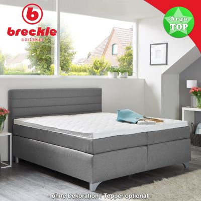 Breckle Boxspringbett Arga Top 140x210 Cm Inkl Topper