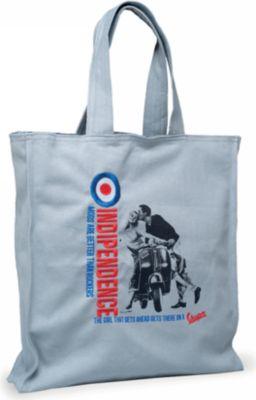 Original Vespa Shopping Bag Indipendence grau
