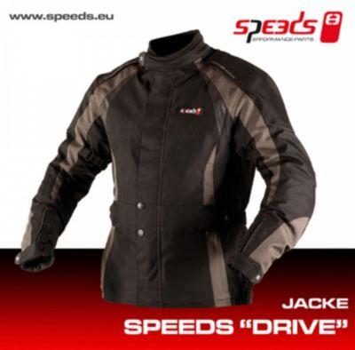 Speeds Motorradjacke Drive 4xl