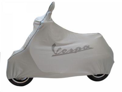 Vespa Fahrzeugabdeckplane Faltgarage für Roller GTS GTS grau Polyester mit Glanzeffekt